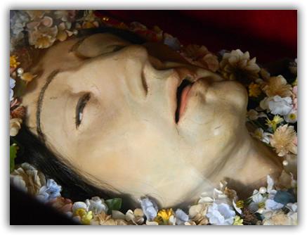 corpo sao martir1 Reliquias